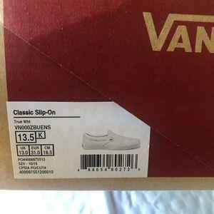 Vans Classic Slip Ons